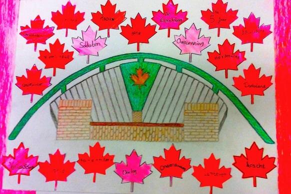 Lunterse Scholen herdenken Bevrijding Lunteren