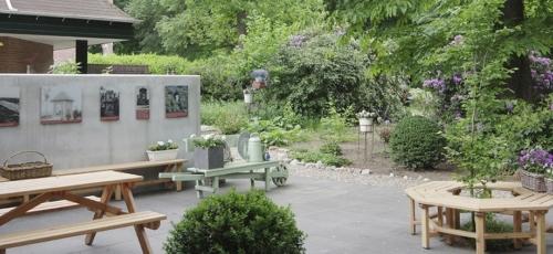 De Pleisterplaats bij De Koepel in Het Luntersche Buurtbosch