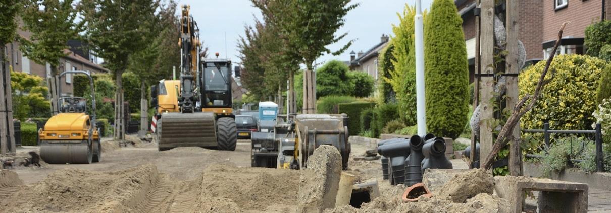 Werkzaamheden A.G. Wijersweg Wekerom