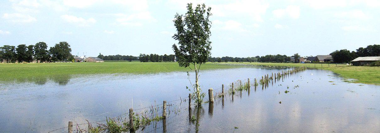 Stormschade Wateroverlast Lunteren