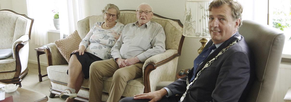 Echtpaar 70 Jaar getrouwd Lunteren