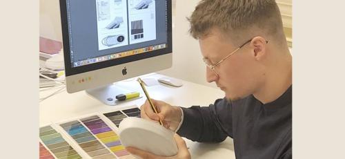 Mees Stofsel ontwerpt schoenen