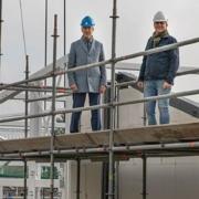 Hoogste punt nieuw schoolgebouw Ederveen