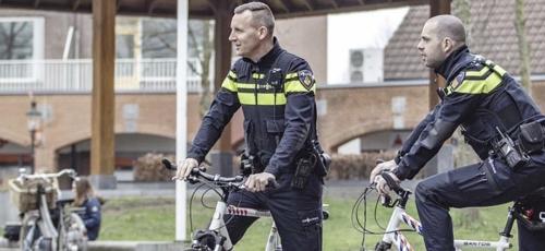Wijkagenten Lunteren Bart en Ilco