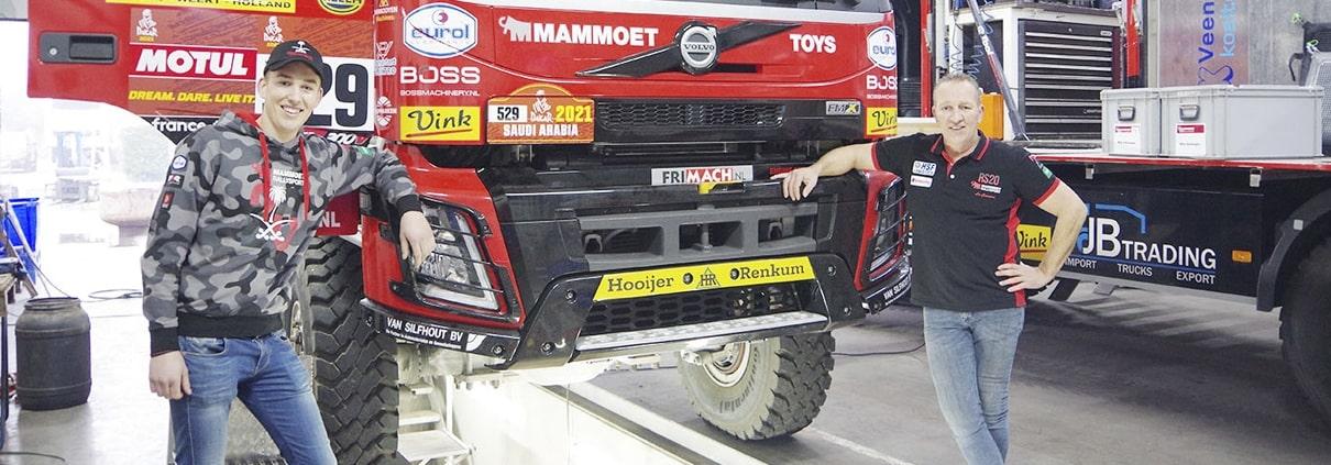 Van den Brink Harskamp Dakar Rally