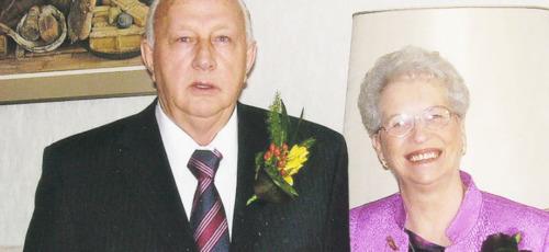 Rik en Gerda Zeggelaar Lunteren 65 jaar getrouwd
