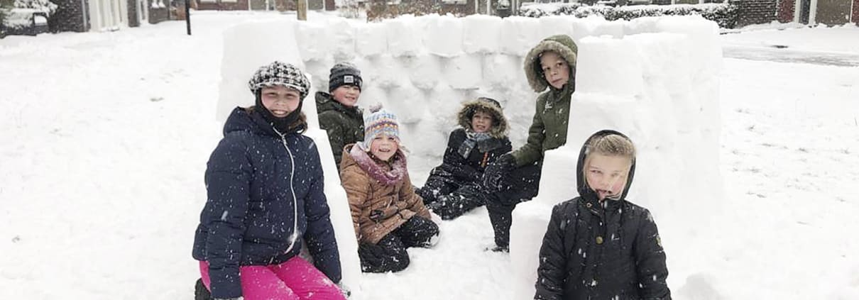 Sneeuwpret Haverkamp Lunteren