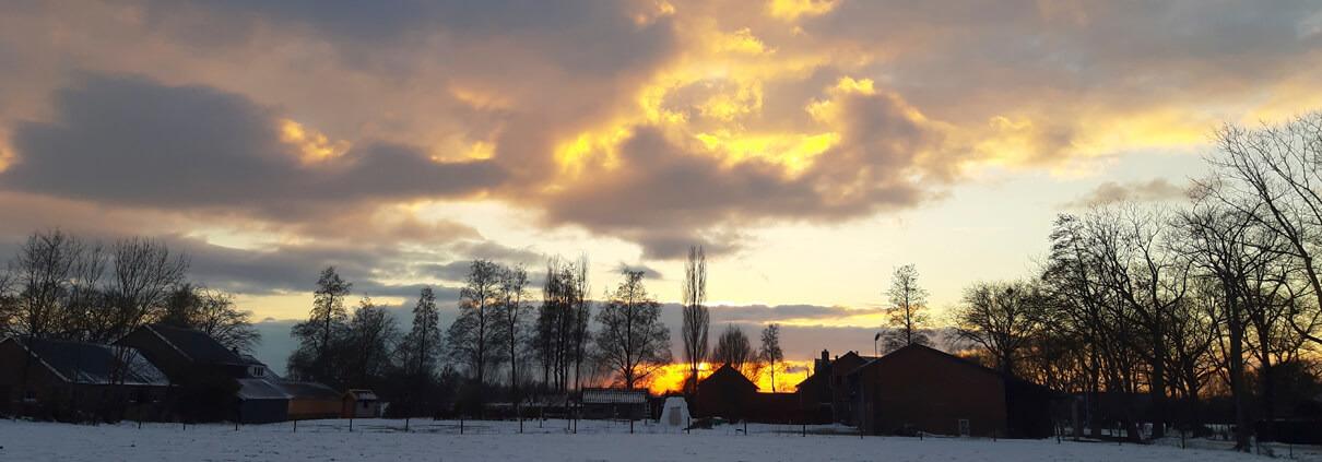 Winterfoto's Lunteren en Omgeving