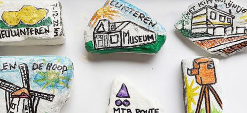 Happy Stone in Lunteren