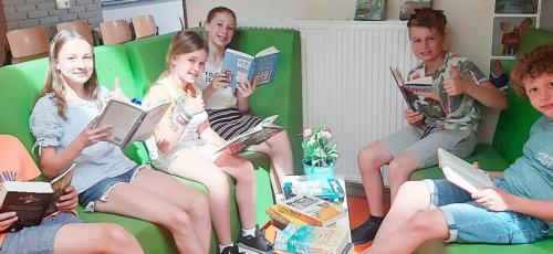 Gedoneerde Leesboeken Triangel Lunteren