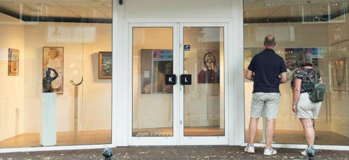 Kunstlijn Etalage Expositie