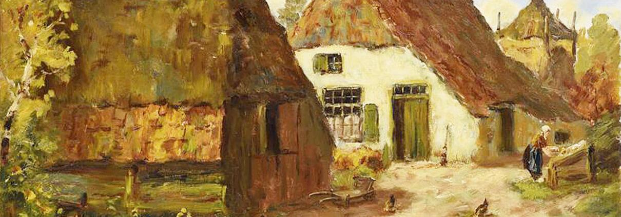 Museum Lunteren Winterlandschap
